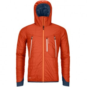 Ortovox Swisswool Piz Boe Jacket Desert Orange